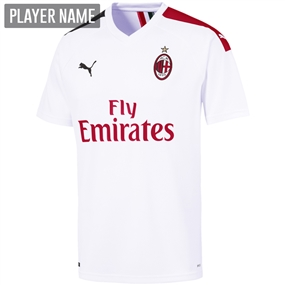 Puma AC Milan Away Jersey '19-'20 (Puma White/Tango Red)