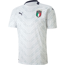 Puma Italy Away Jersey 2020 (White/Peacoat)