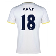 Under Armour Tottenham 'KANE 18' Home 2014-15 Soccer Jersey (White)