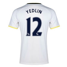 Under Armour Tottenham 'YEDLIN 12' Home 2014-15 Soccer Jersey (White)