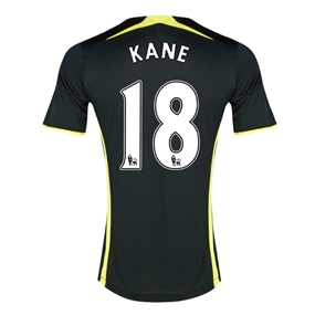 Under Armour Tottenham 'KANE 18' Away 2014-15 Soccer Jersey (Black)