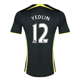 Under Armour Tottenham 'YEDLIN 12' Away 2014-15 Soccer Jersey (Black)