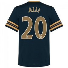 Under Armour Tottenham 'ALLI 20' Away '16-'17 Replica Soccer Jersey (Navy/Gold)