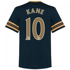Under Armour Tottenham 'KANE 10' Away '16-'17 Replica Soccer Jersey (Navy/Gold)