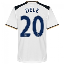 Under Armour Tottenham 'DELE 20' Home '16-'17 Replica Soccer Jersey (White)