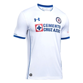 Under Armour Cruz Azul Away Jersey '18-'19 (White/Royal)