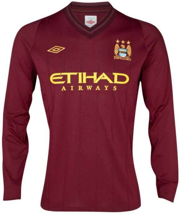 76.49 - Umbro Manchester City Away Longsleeve Replica  12- 13 ... d63a249ac