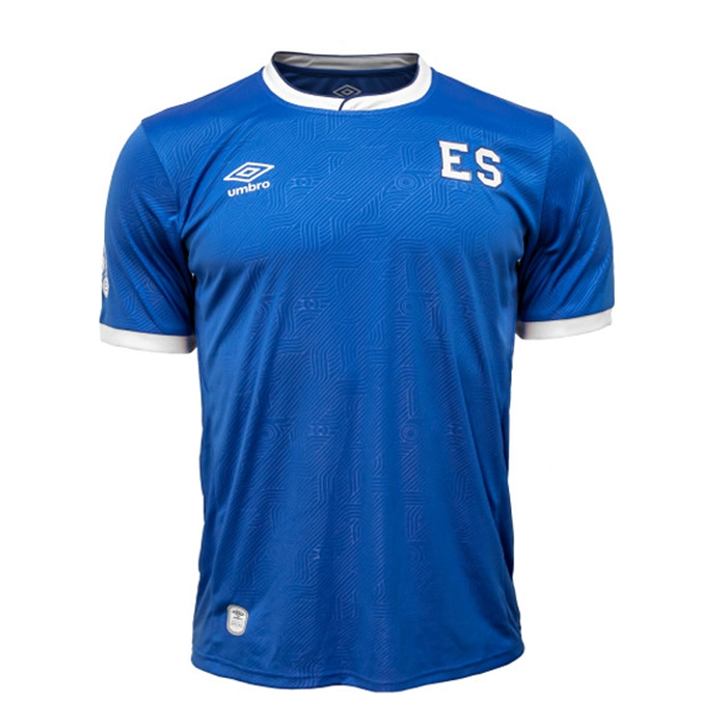 66d71a6d747 Umbro El Salvador Home '17-'18 Replica Jersey (Blue/White) | Umbro ...
