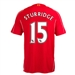 Warrior Liverpool 'STURRIDGE 15' Home '14-'15 Replica Soccer Jersey (Red)