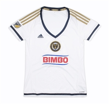 Adidas MLS Philadelphia Union Women's 2015-16 Secondary Away Replica Soccer Jersey