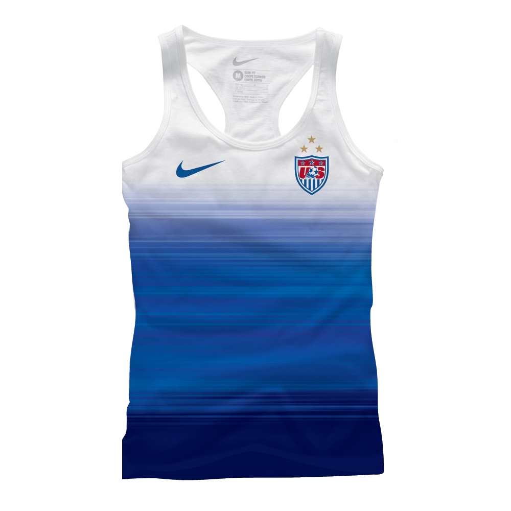 f7044c968  29.99 Add to Cart for Price - Nike USA Women s World Cup Match Women s  Tank (Blue White)
