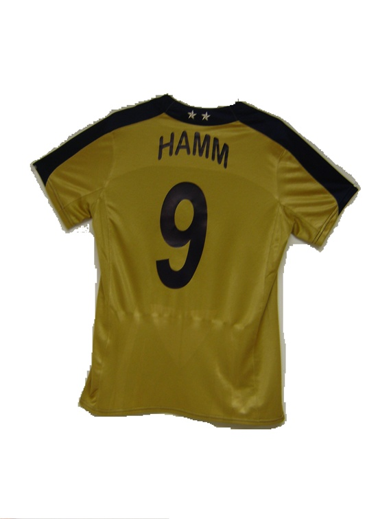 brand new ee7a2 969ca Nike Women's USA Game Day MIA HAMM 9 Jersey '07 (Gold)