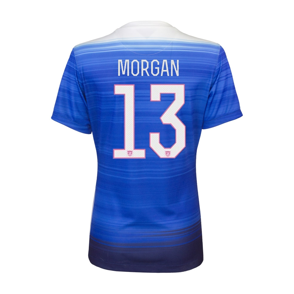 51f83489986 SALE  57.45 Nike Women s  MORGAN 13  USA 2015 Away 3 Star Soccer ...