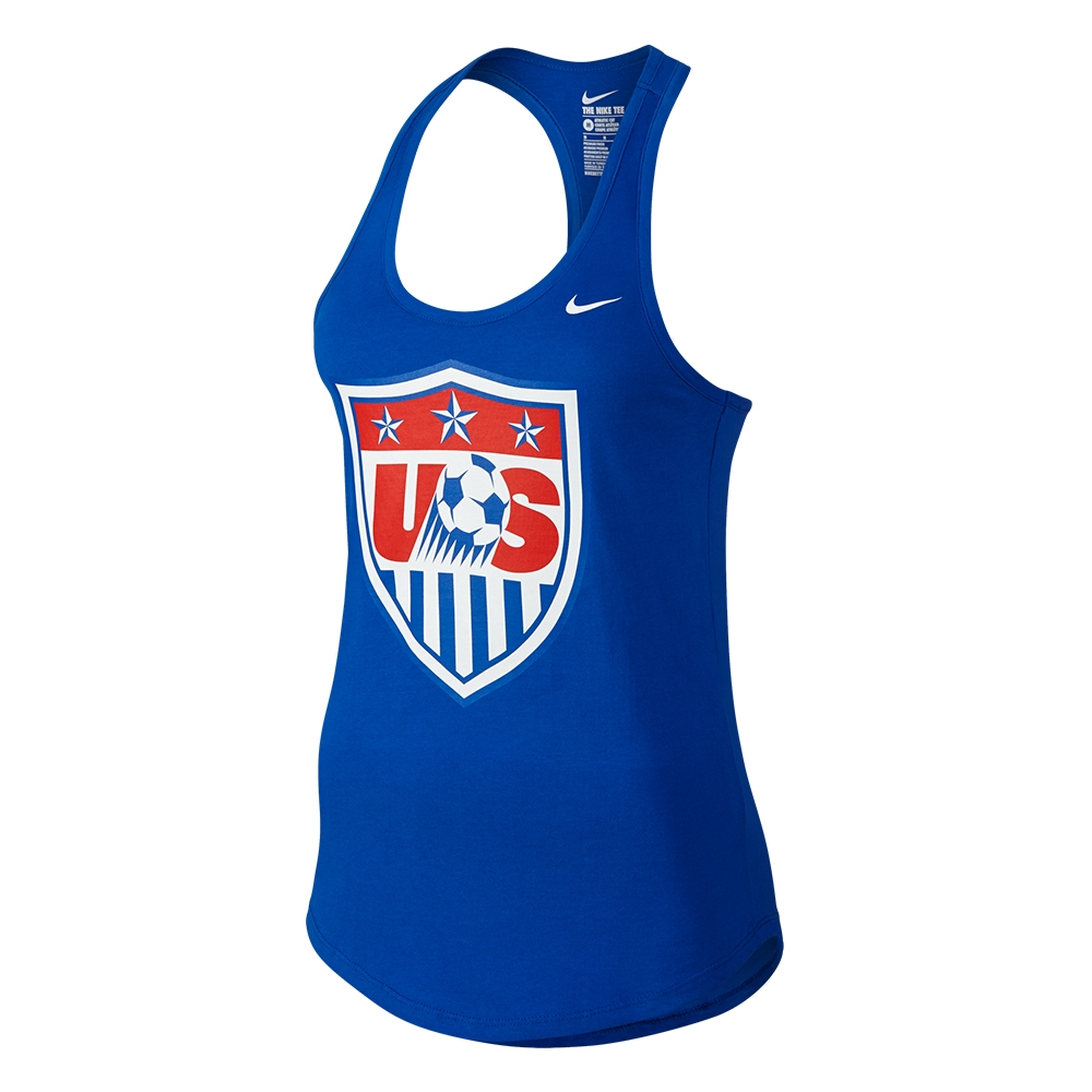 29.99 Add to Cart for Price - Nike USA Core Plus Women s Tank Top (Royal)   b17ab91ef