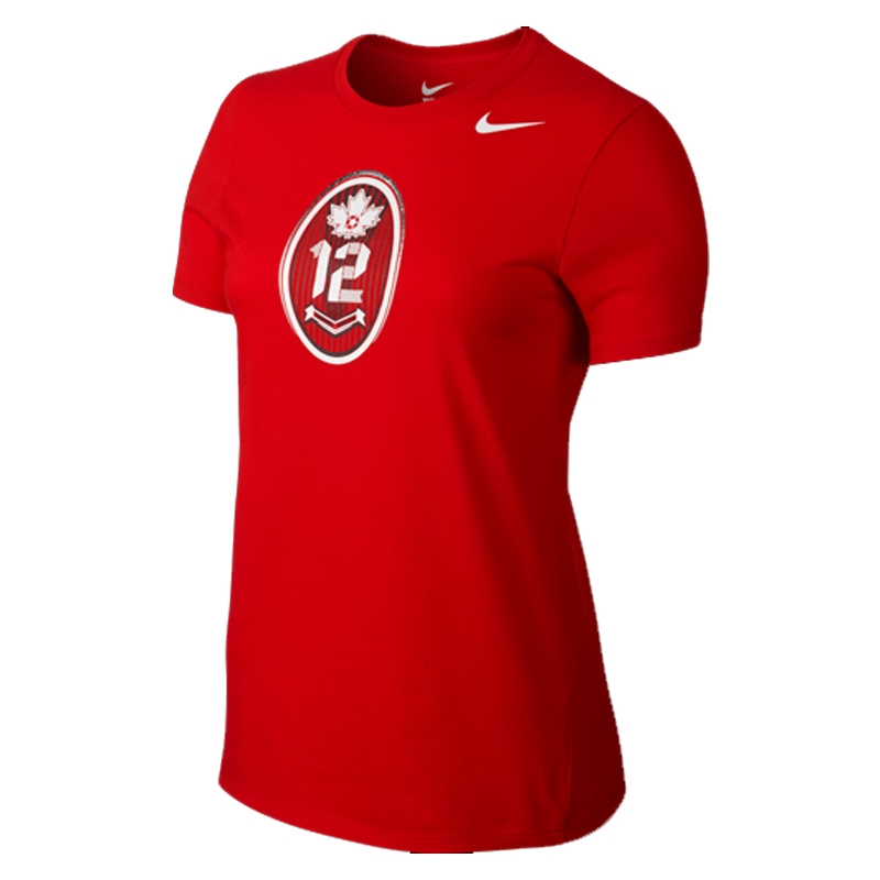 29.99 Add to Cart for Price - Nike Canada Christine Sinclair Hero Women s  T-shirt (Red)  f94a43cc8