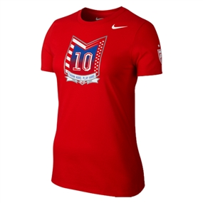 Nike USA Carli Lloyd Hero Women's T-shirt (Red)