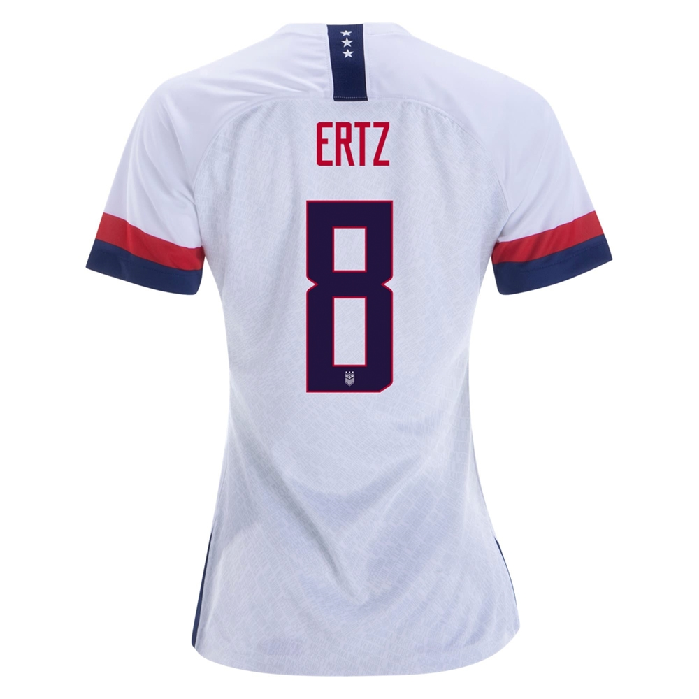 5f343831b Nike USA 'ERTZ 8' Women's 2019 Home Vapor Match Jersey (White/Blue ...