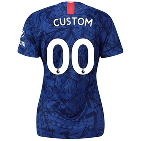 Nike Women's Chelsea 'CUSTOM' Home Stadium Jersey '19-'20 (Rush Blue/White)