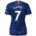 Nike Women's Chelsea 'KANTE 7' Home Stadium Jersey '19-'20 (Rush Blue/White)