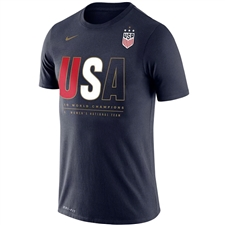 Nike USA Women's Champions 2019 Core T-Shirt (Navy)