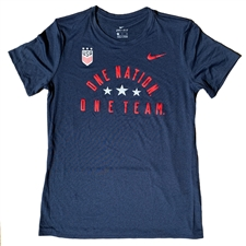 Nike USA Women's Legend T-Shirt (Navy)