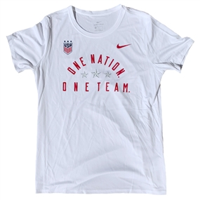 Nike USA Women's Legend T-Shirt (White)