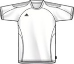 Adidas Youth Toque Soccer Jersey (White)