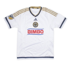 Adidas MLS Philadelphia Union Youth  2015-16 Secondary Away Replica Soccer Jersey