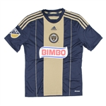 Adidas MLS Philadelphia Union Youth 2015 Primary Replica Soccer Jersey