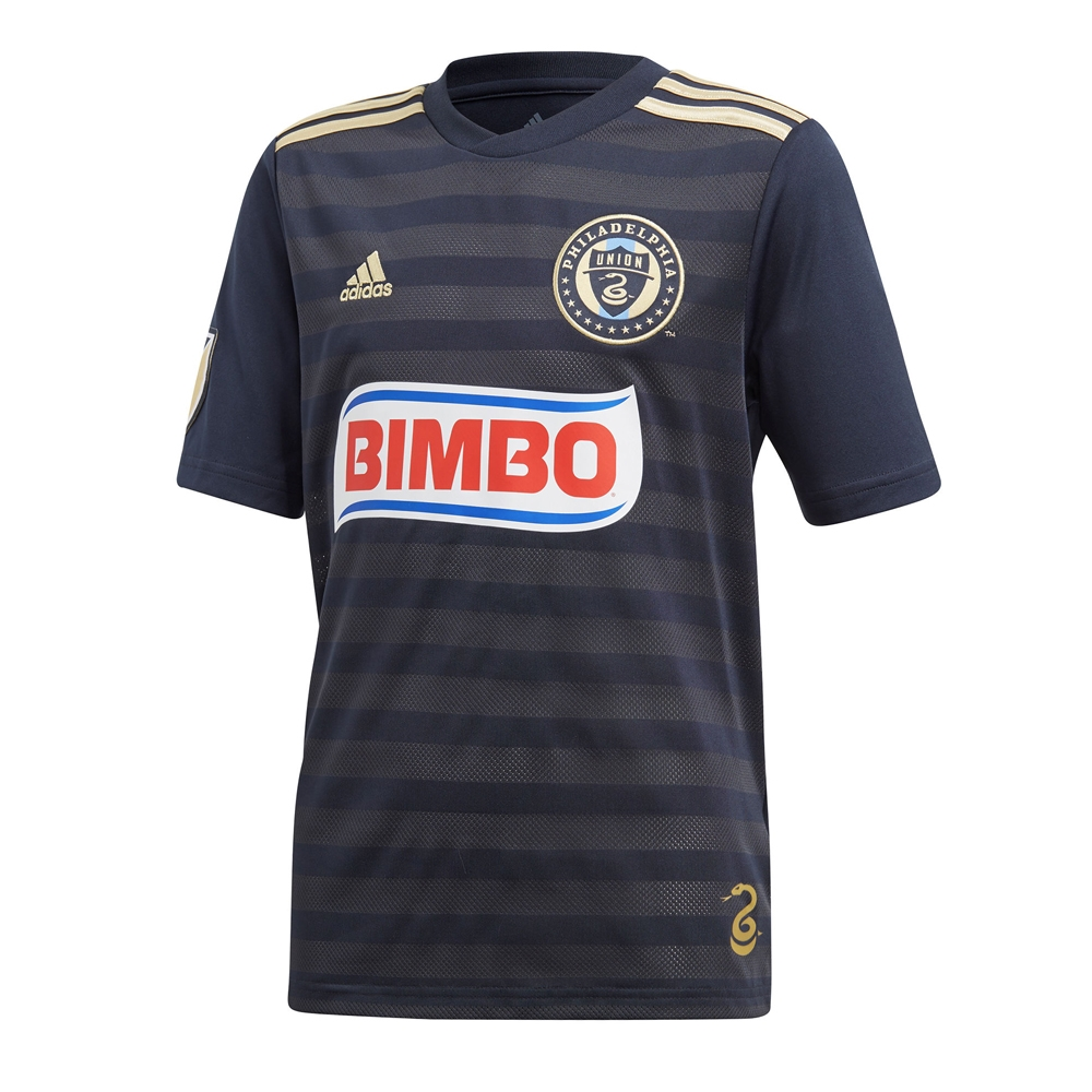 new concept a7cfa ba01b Adidas Youth MLS Philadelphia Union 2018 Primary Replica Jersey (Navy)