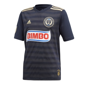 Adidas Youth MLS Philadelphia Union 2018 Primary Replica Jersey (Navy)