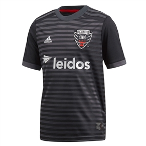 Adidas Youth MLS D.C. United 2018 Primary Replica Jersey (Black)