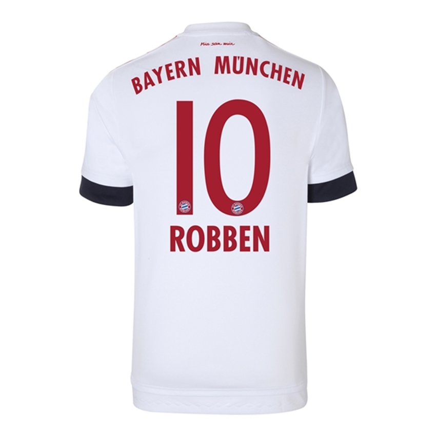 b1a5c926d16  85.49 - Adidas Bayern Munich  ROBBEN 10  Away Youth  15- 16 Soccer ...