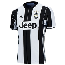 Adidas Juventus '16-'17 Youth Home Soccer Jersey (White/Black)