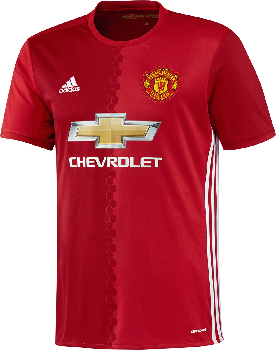 Adidas Youth Manchester United Home  16- 17 Soccer Jersey  4fa344e98