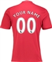"Adidas Youth Manchester United ""CUSTOM"" Home '16-'17 Soccer Jersey"
