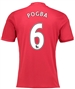 "Adidas Youth Manchester United ""POGBA 6"" Home '16-'17 Soccer Jersey"