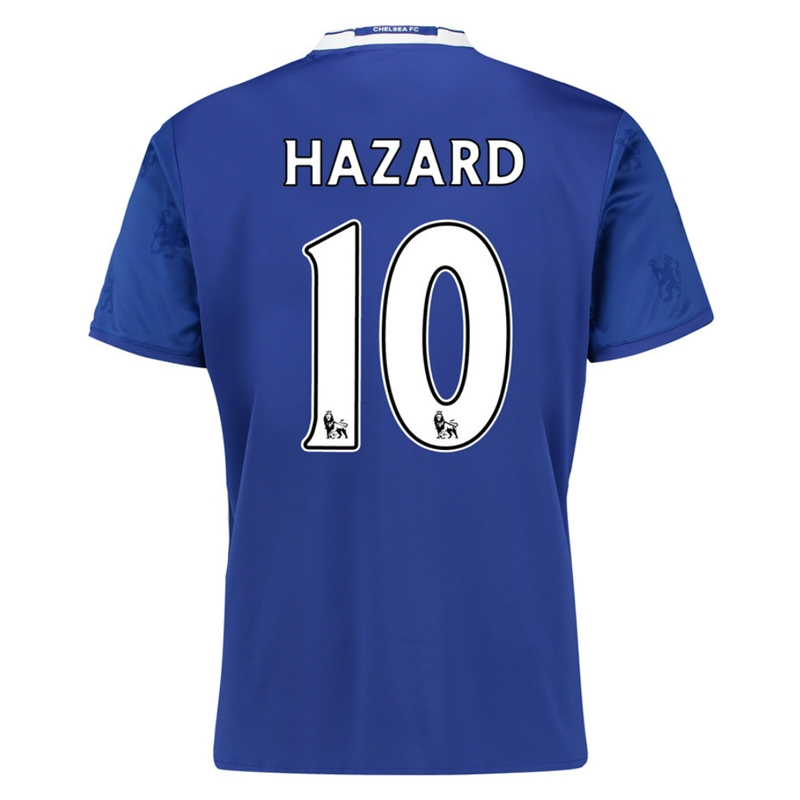 b470fdc58 ... Adidas Youth Chelsea 'HAZARD 10' Home '16-'17 Replica Soccer Jersey ...