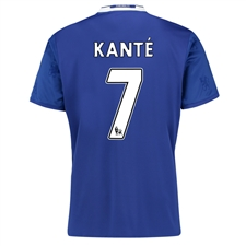 Adidas Youth Chelsea 'KANTE 7' Home '16-'17 Replica Soccer Jersey (Chelsea Blue/White)