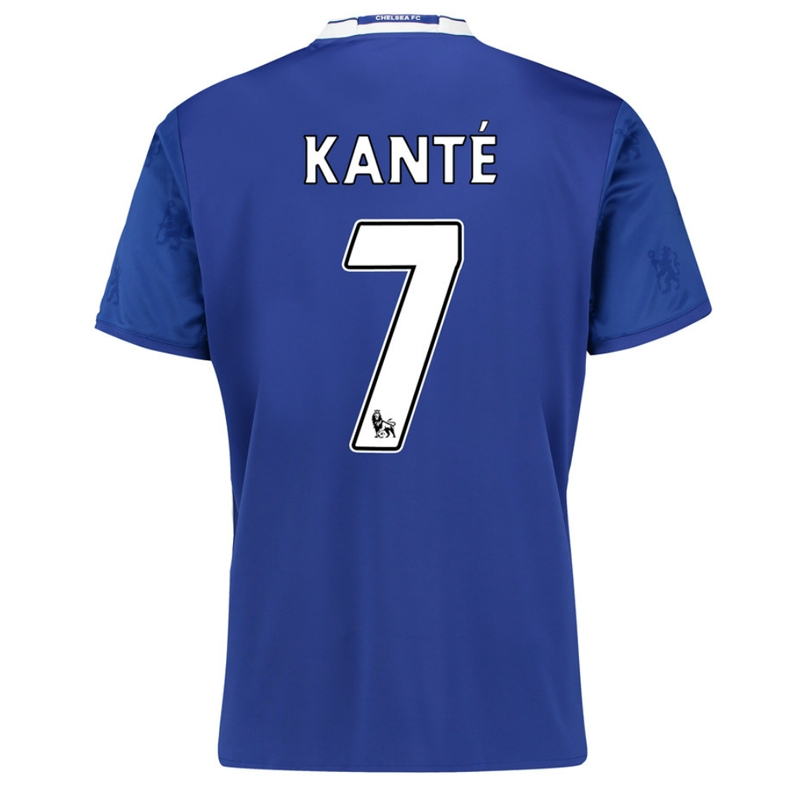hot sale online a063e 49c01 Adidas Youth Chelsea 'KANTE 7' Home '16-'17 Replica Soccer Jersey (Chelsea  Blue/White)