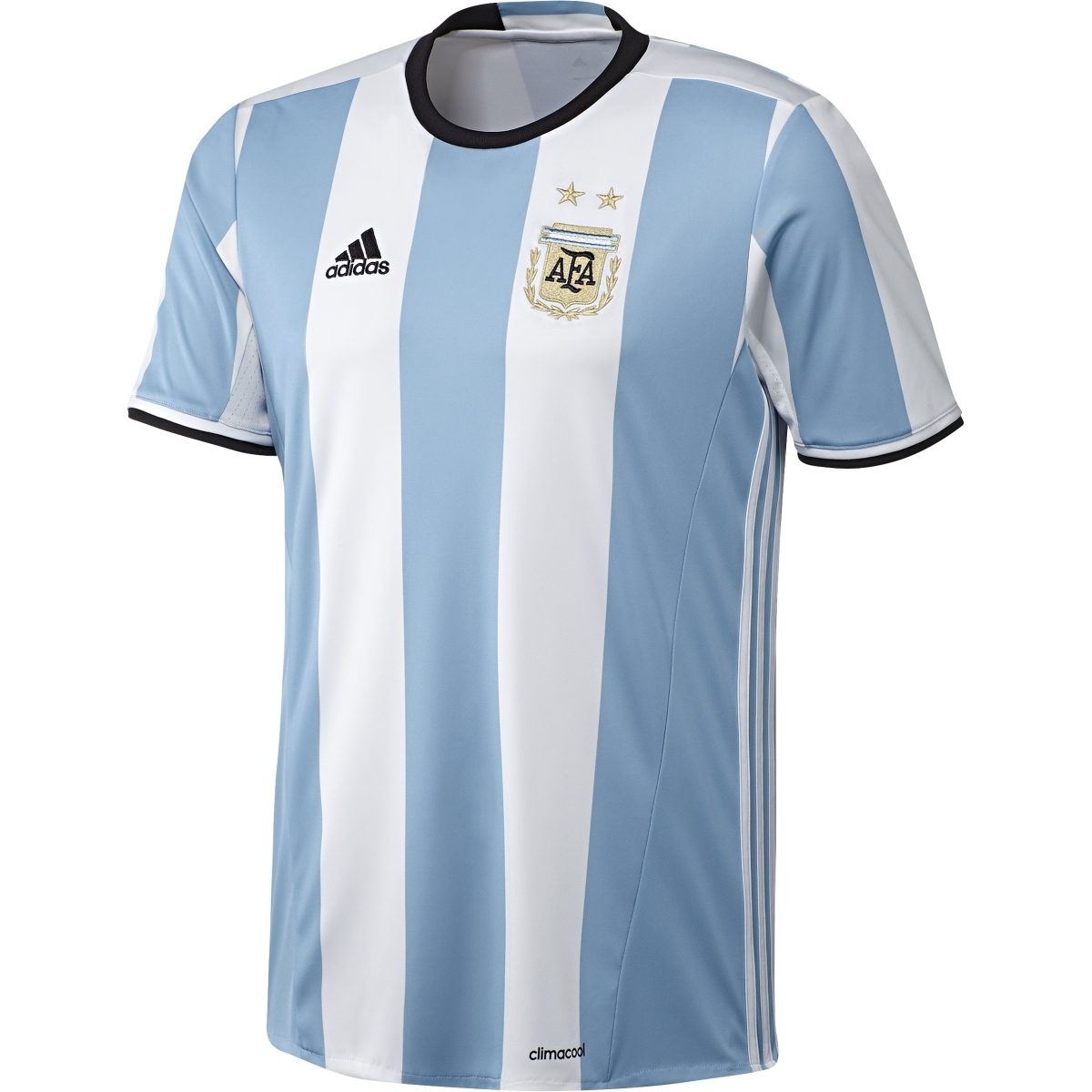 a8a1189cd31de Adidas Youth Argentina Home 2016 Replica Soccer Jersey (Light Blue/White/Black)  | Argentina Soccer Jerseys| Adidas AK0049 | SoccerCorner.com