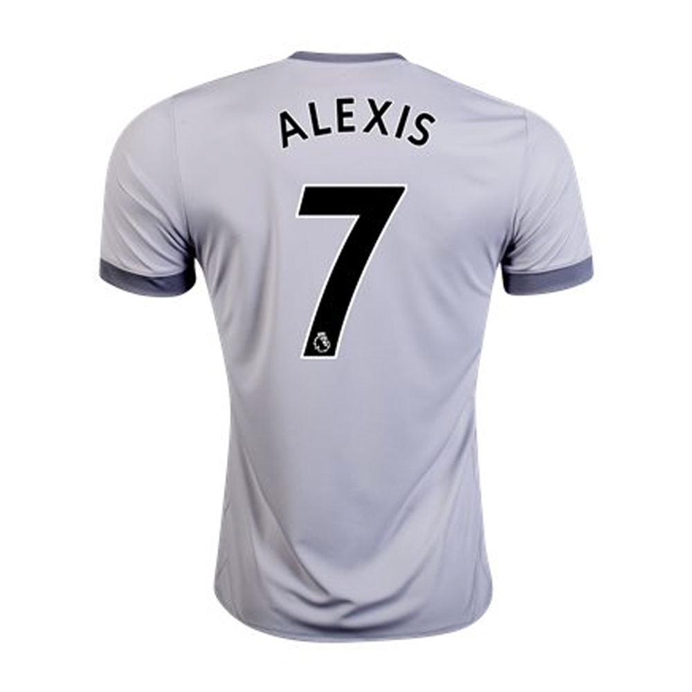 68bc17dc1 Adidas Manchester United Youth  ALEXIS 7  Third  17- 18 Soccer ...