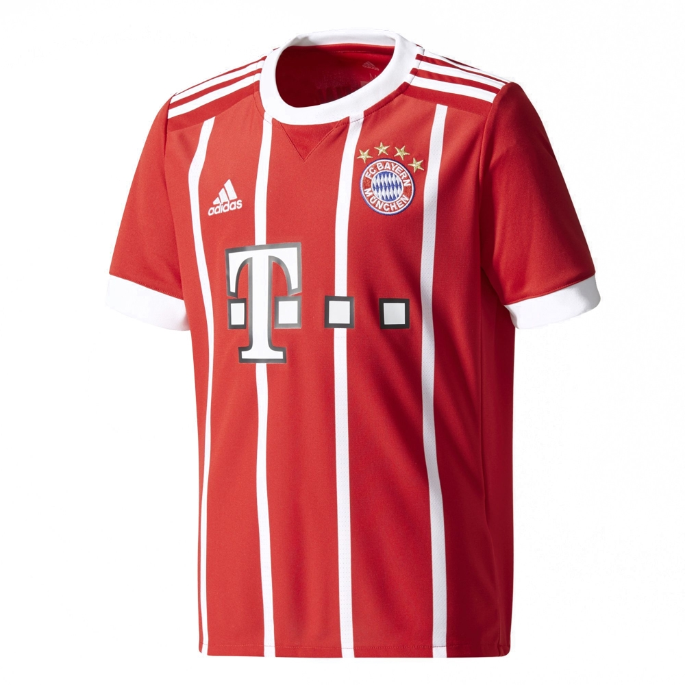 premium selection 8288a 11e99 Adidas Youth Bayern Munich 'MULLER 25' Home '17-'18 Soccer Jersey  (Red/White)