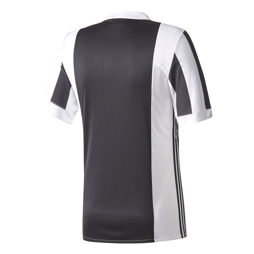 2b6604623d4 Adidas Juventus Youth Home  17- 18 Soccer Jersey (White Black ...