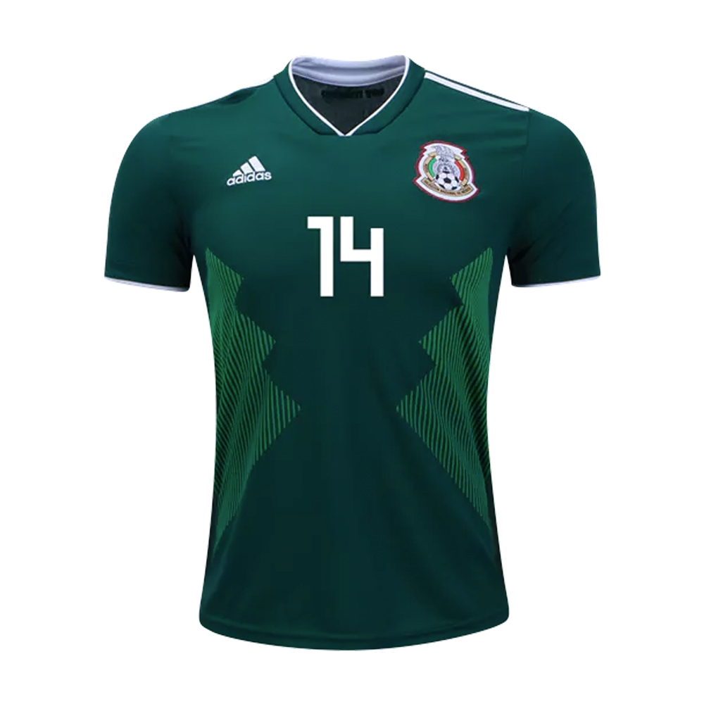 3f7b29d6b Adidas Youth Mexico  CHICHARITO 14  Home Jersey  18- 19 (Collegiate ...