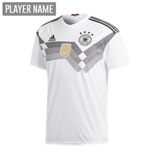 Adidas Youth Germany Home Jersey '18-'19 (White/Black)