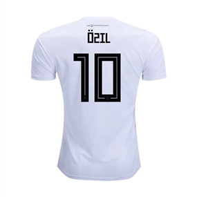 Adidas Youth Germany 'OZIL 10' Home Jersey '18-'19 (White/Black)