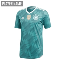 Adidas Youth Germany Away Jersey '18-'19 (EQT Green/White/Real Teal)