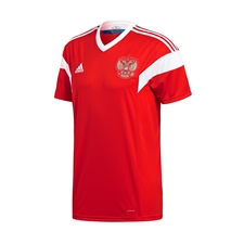 Adidas Youth Russia Home Jersey '18-'19 (Red/White)
