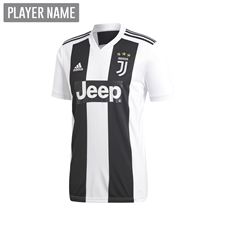 Adidas Youth Juventus Home Jersey '18-'19 (Black/White)